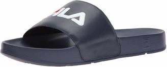Fila Men's Drifter Sport Sandal Navy red/White 12 Medium US