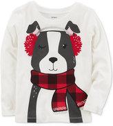 Carter's Dog-Print Cotton T-Shirt, Little Girls (4-6X)