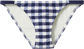Solid & Striped Morgan Gingham Bikini Bottom