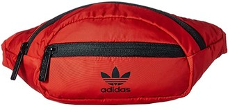 adidas Originals National Waist Pack (Scarlet/Black) Travel Pouch