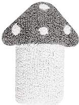 Happy Decor Kids Washable Cushion (30 x 35 cm, Mushroom Light Grey/White)