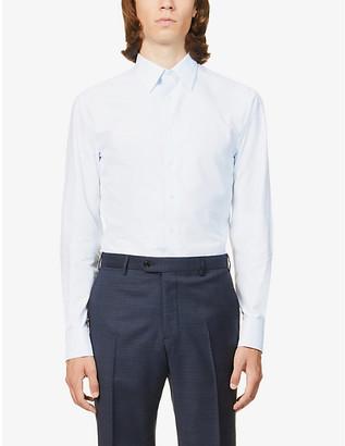 Emporio Armani Modern-fit cotton shirt