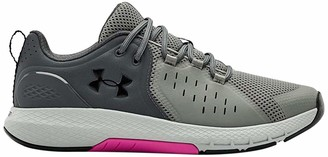 Under Armour Men's Charged Commit 2.0 Cross Trainer Running Shoe Black (001)/White 8