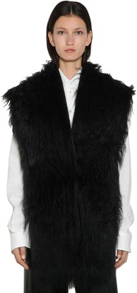 MM6 MAISON MARGIELA Faux Fur Vest