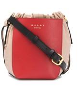 Marni Gusset contrasting-pocket bucket bag