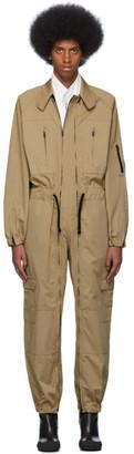 Random Identities Beige Flight Suit