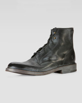 Frye James Lace-Up Boot, Black