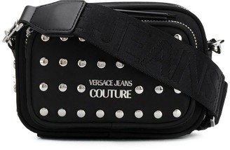 Versace Studded Convertible Belt Bag