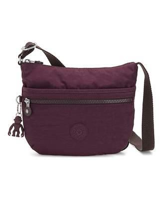 Kipling Arto Small Crossbody Plum Bag