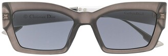 Christian Dior Cat Style 2 rectangular sunglasses