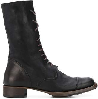 Cherevichkiotvichki distressed lace-up boots