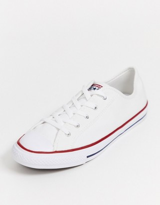 Converse white Chuck Taylor All Star Dainty trainers