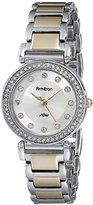 Swarovski Armitron Women's 75/5259SVTT Crystal Accented Two-Tone Bracelet Watch