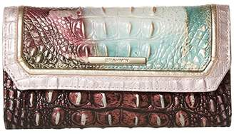 Brahmin Jasper Soft Checkbook Wallet (Nirvana) Wallet Handbags