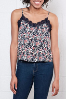 Only Floral Cropped Camisole Top