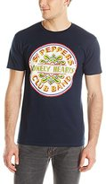 Bravado Men's The Beatles Lonely Hearts Seal T Shirt