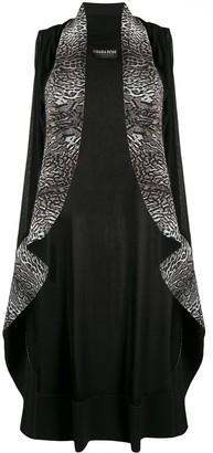 Le Petite Robe Di Chiara Boni Animal-Print Sleeveless Coat