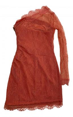 Elisabetta Franchi Pink Lace Dresses