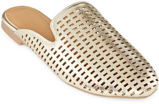 OLIVIA MILLER Womens Slip-on Closed Toe Mules