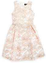 Bardot Junior Girls' Vienna Floral Print Mesh Dress - Sizes 8-16