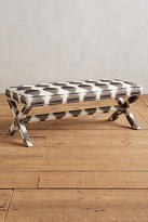 Anthropologie Printed Wilmette Bench