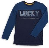 Lucky Brand Boys 8-20 Logo Graphic Tee