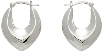 Sophie Buhai Silver Clio Hoops