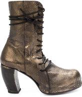Masnada platform boots - women - Lamb Skin - 39