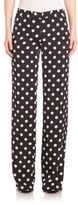 Akris Punto Polka Dot Marla Pants