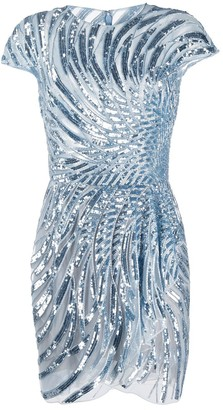 ZUHAIR MURAD Sequin Embellished Dress