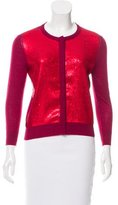 L'Wren Scott Sequin-Accented Cardigan