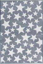 Kit For Kids Star Baby Rug, Grey