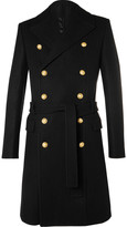 Balmain - Double-breasted Wool And Cashmere-blend Coat