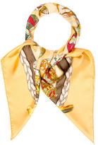 Hermes Couvée d'Hermès Silk Scarf