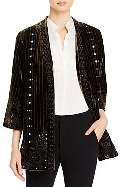 Kobi Halperin Samira Metallic Embroidery Jacket