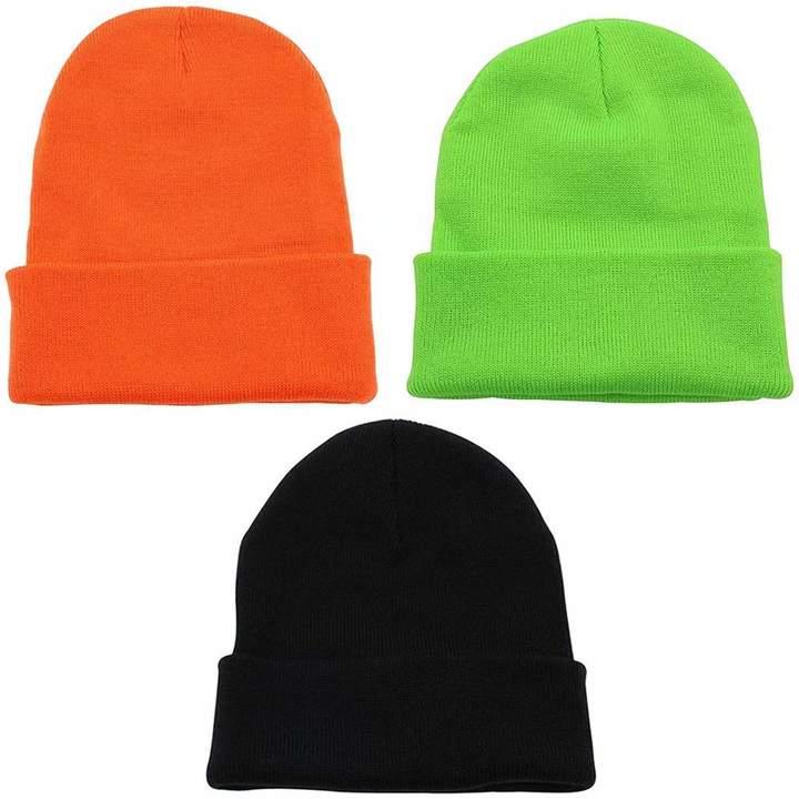 size 40 3ea63 a35cc Mens Orange Beanie - ShopStyle Canada