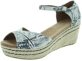 Toms Women's Platform Wedge Casual Shoe 7 Women US
