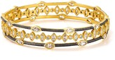 Freida Rothman Bloom Petal Bangles, Set of 3