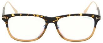 Tom Ford Blue Block 55MM Square Glasses