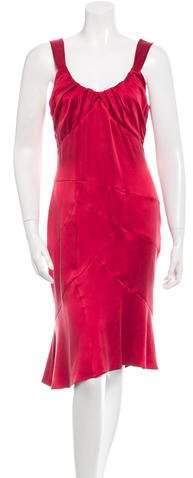 Yigal Azrouel Classic Sleeveless Silk Dress