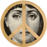 "Fornasetti Woman And Peace Sign"" Plate"