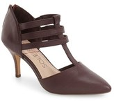 Sole Society 'Mallory' T-Strap Leather Pump