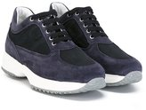 Hogan Interactive sneakers - kids - Suede/Polyester/Leather/rubber - 28