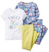 "Carter's 4-Piece ""Sweet Dreams"" Pajama Set"