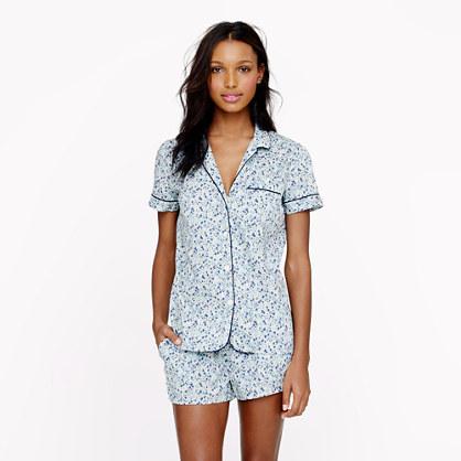 J.Crew Liberty vintage short pajama set in Phoebe floral
