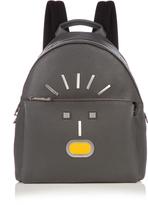 Fendi Selleria Faces leather backpack