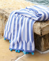 John Robshaw Nicatta Blue Beach Towel