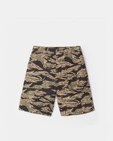 Stussy Seersucker Military Shorts (Camo)