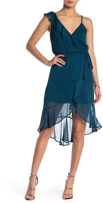 Ruffle High/Low Hem Dress