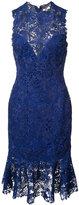 Monique Lhuillier lace dress - women - Silk/Polyester - 2
